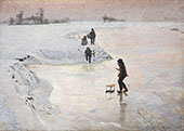 The Ice Birds By Emile Claus