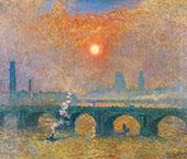 Waterloo Bridge London By Emile Claus