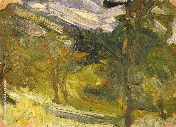 Landscape Study 1907 By Richard Gerstl