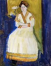 Mathilde Schonberg By Richard Gerstl