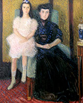 Mother and Daughter By Richard Gerstl
