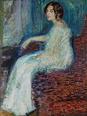 Portrait of Henryka Cohn 1908 By Richard Gerstl