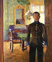Portrait of Lieutenant Alois Gerstl By Richard Gerstl