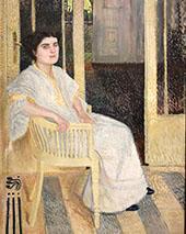 Portrait of Smaragda Berg 1906 By Richard Gerstl