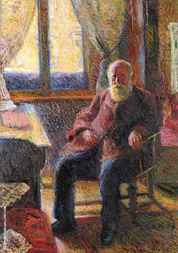 Portrait of The Artists Father Emil Gersstl By Richard Gerstl