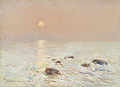 Morning, Isle of Shoals By Childe Hassam