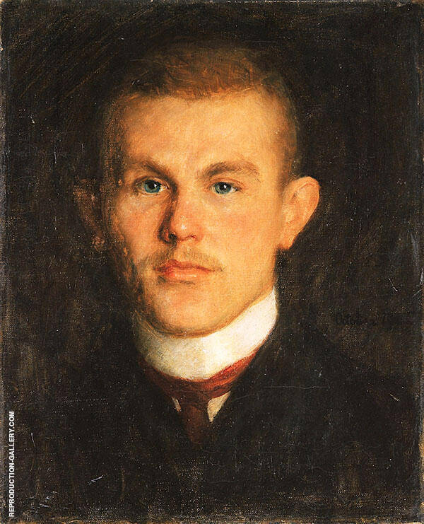 Portrait of Waldemar Unger 1904 By Richard Gerstl