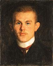 Portrait of Waldemar Unger 1904 By Richard Gerstl