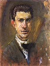 Small Self Portrait By Richard Gerstl