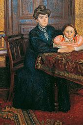 Mathild and Gertrude Schonberg 1906 By Richard Gerstl