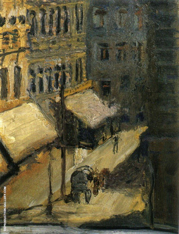 Small Street 1908 By Richard Gerstl