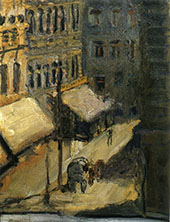 Small Street 1908 By Richard Gerstl