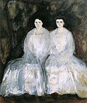 The Sisters Karoline and Pauline Fey By Richard Gerstl