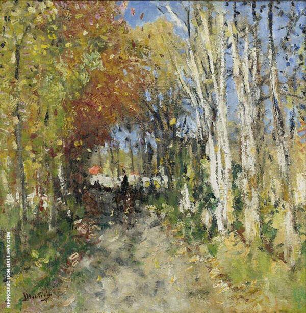 Alley in The Forest By Pierre Eugene Montezin