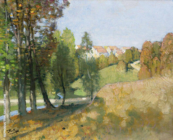 Autumn By Pierre Eugene Montezin