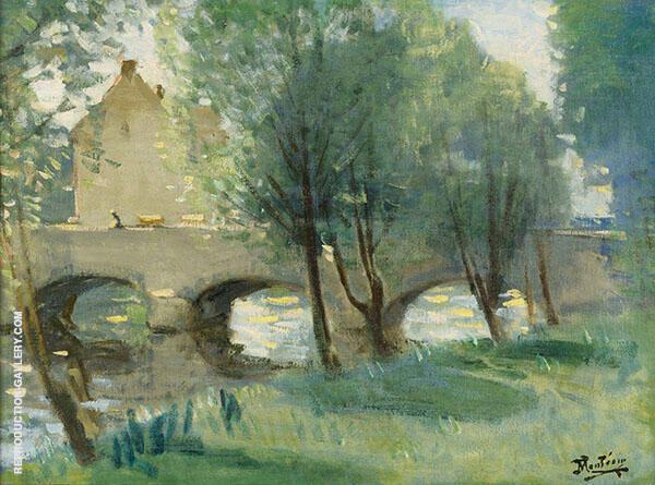 Le Pont By Pierre Eugene Montezin