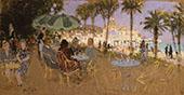 The Casino of Nice By Pierre Eugene Montezin
