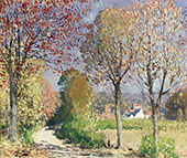 The Road By Pierre Eugene Montezin