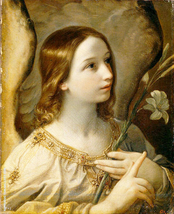 The Archangel Gabriel By Guido Reni