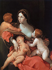 Allegory of Caritas By Guido Reni