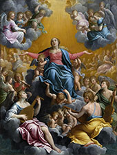 Assumption of The Virgin 1596 By Guido Reni
