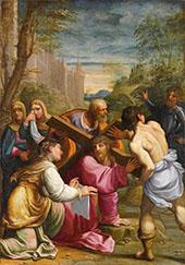 Christ Bearing The Cross By Guido Reni