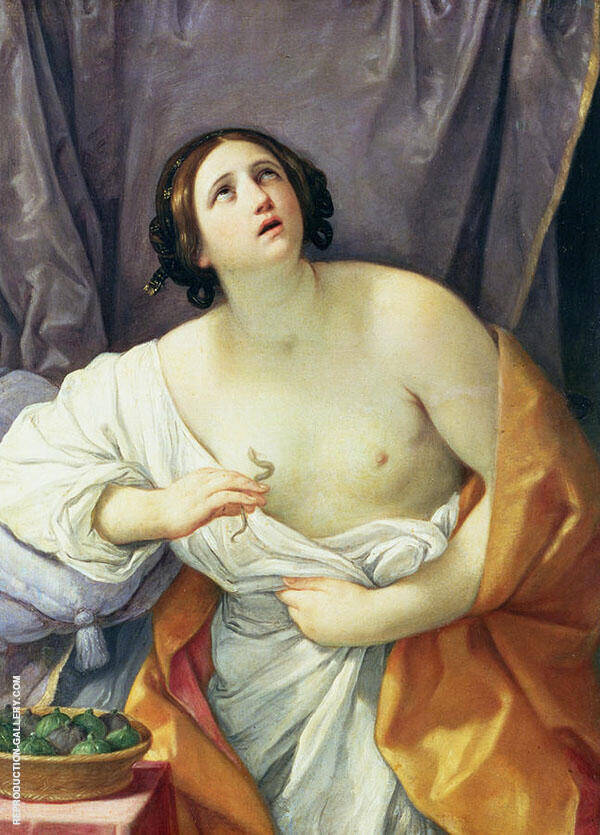 Cleopatra 1635 By Guido Reni