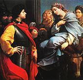David and Abigail 1615 By Guido Reni