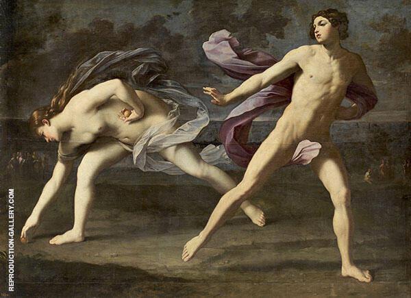 Hippomenes and Atalanta 1618 By Guido Reni