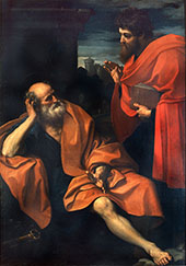 Pietro and Paolo 1605 By Guido Reni