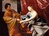 Joseph and Potiphar's Wife 1630 By Guido Reni
