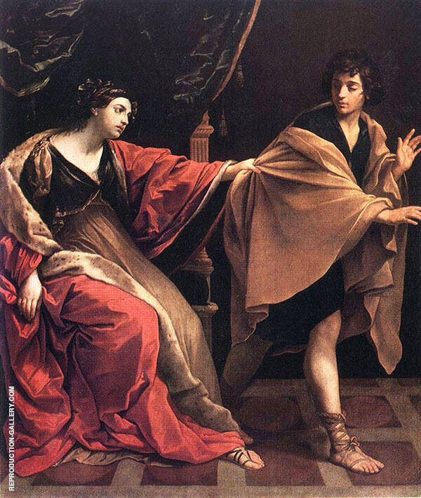 Joseph and Potiphar's Wife 1631 By Guido Reni