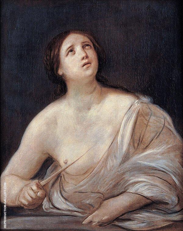 Lucretia 1640 By Guido Reni