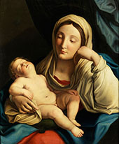 Madonna with Child By Guido Reni