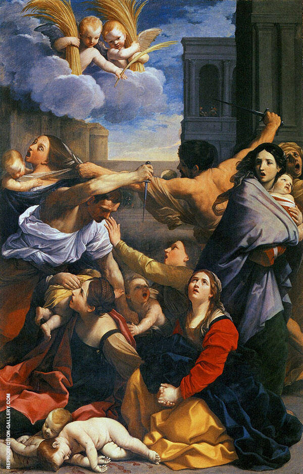 Massacre of The Innocents 1611 By Guido Reni