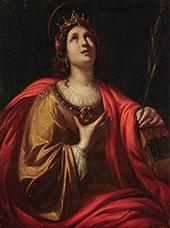 Saint Catherine of Alexandria By Guido Reni