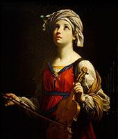 Saint Cecilia 1606 By Guido Reni