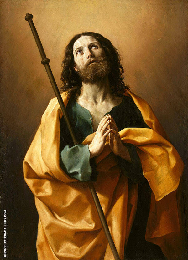 Saint James The Greater 1636 Painting By Guido Reni - Reproduction Gallery