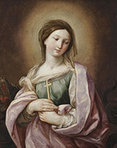 Saint Margaret of Antioch By Guido Reni
