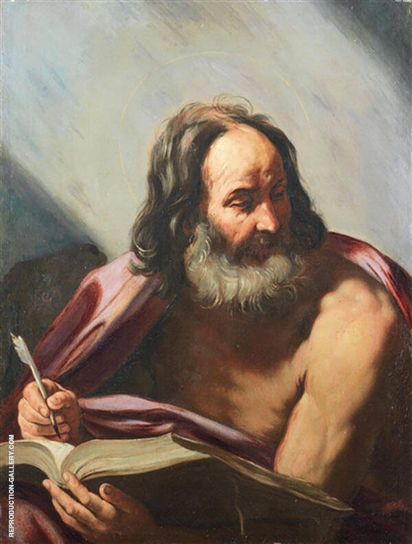 Saint Mark The Evangelist Painting By Guido Reni - Reproduction Gallery
