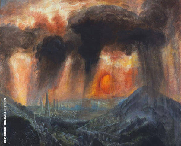 Evening Storm 1942 Painting By Otto Dix - Reproduction Gallery