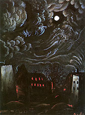 Night Over the City By Otto Dix