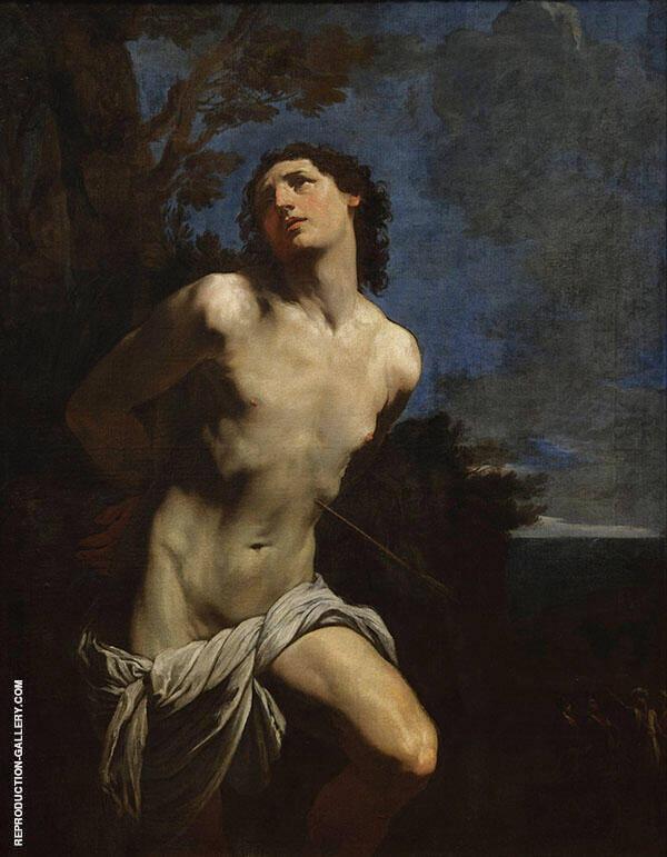 Saint Sebastian 1625 Painting By Guido Reni - Reproduction Gallery