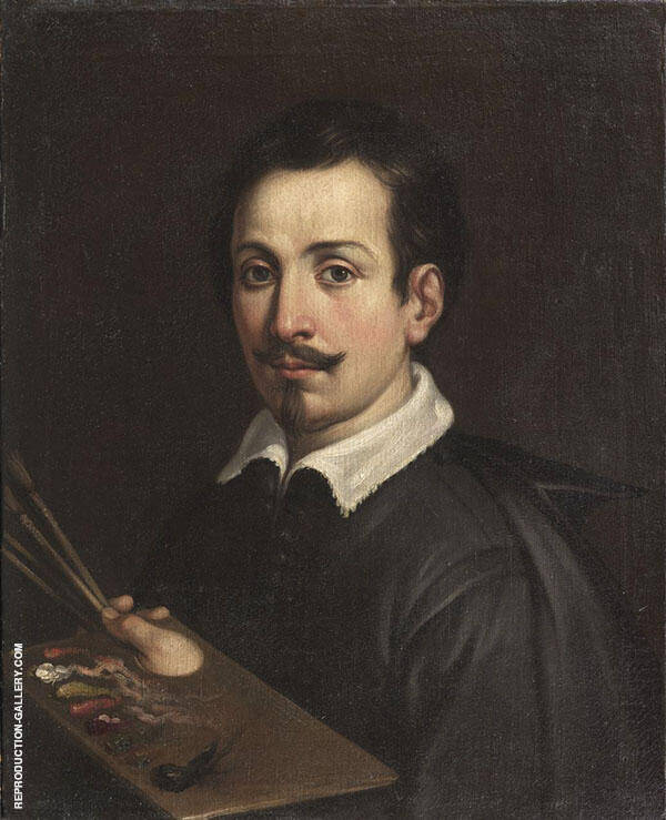 Self Portrait 1602 Painting By Guido Reni - Reproduction Gallery