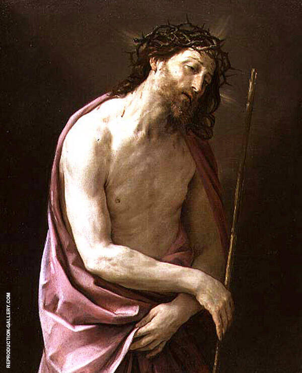 The Man of Sorrows 1639 Painting By Guido Reni - Reproduction Gallery