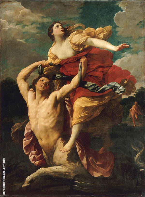 The Rape of Deianira 1621 Painting By Guido Reni - Reproduction Gallery