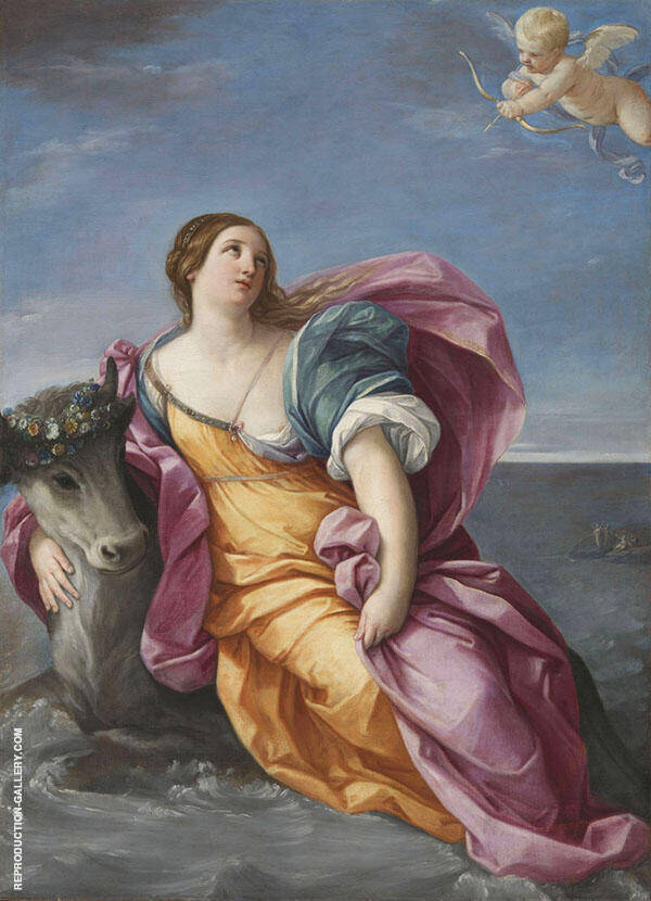 The Rape of Europa 1630 Painting By Guido Reni - Reproduction Gallery