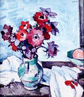 Anemones By Samuel John Peploe