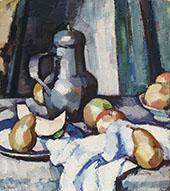 Apples and Pewter Pot 1920 By Samuel John Peploe