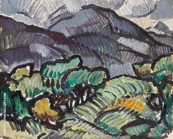 Arran 1921 By Samuel John Peploe